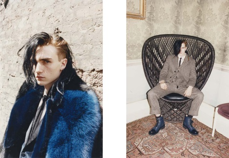 Gryphon O'Shea by Juergen Teller for Marc Jacobs