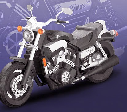 Motorcycles - VMAX Papercraft Power Dragger