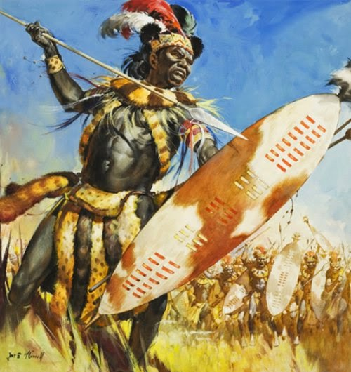 Painting Zulus Picture 8