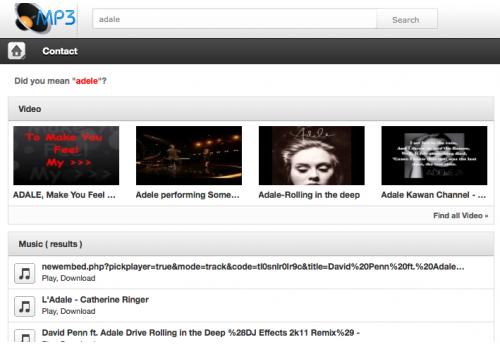 mp3 search crack: