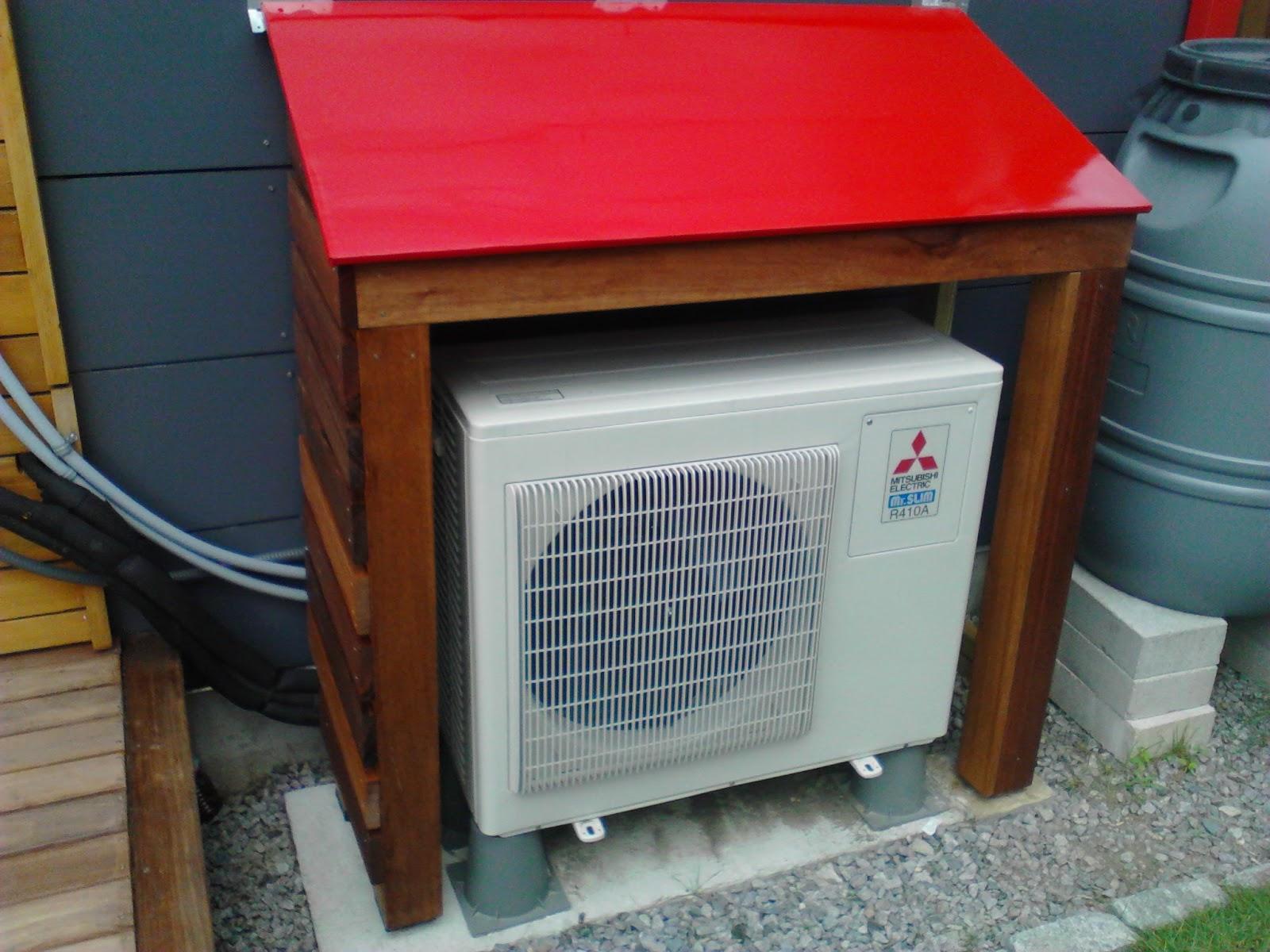 Heat Pump Shelters : Heat pump house park passivhaus