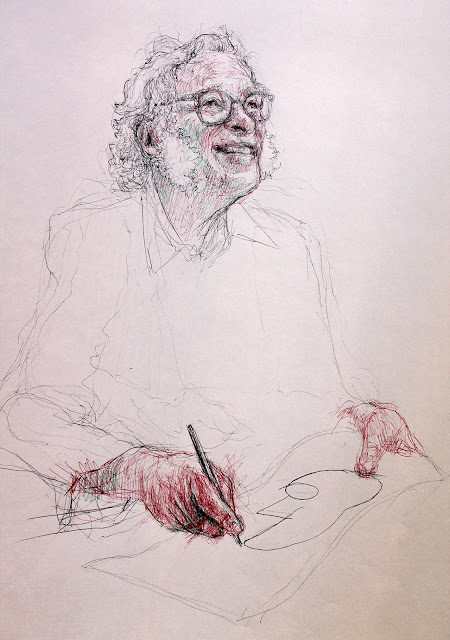 """retrato"",""Isaac Asimov"",""ciencia"",""ficción"",""dibujo"",""draw"",""drawing"",""bolígrafo"",""pen"", ""science"",""platos desechables"",""illustration"", ""ilustración"""