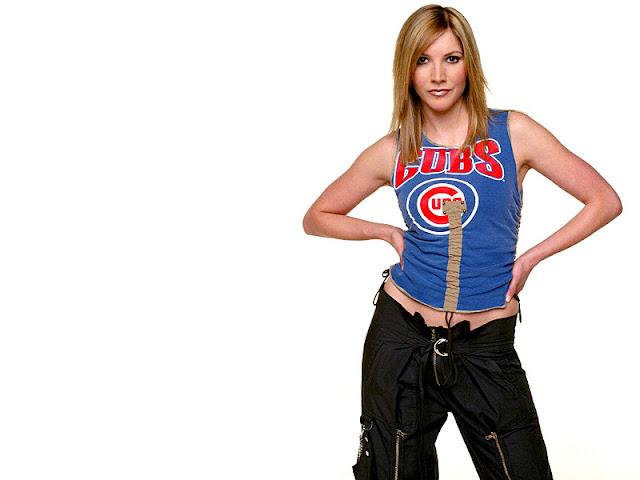 English Actress and Model Lisa Faulkner