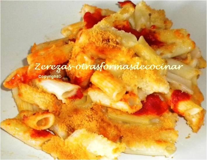 Zerezas otrasformasdecocinar macarrones con queso - Macarrones con verduras al horno ...