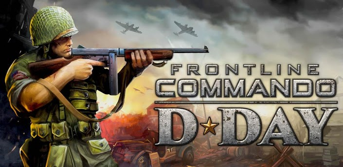 FRONTLINE COMMANDO: D-DAY MOD APK(ARMv6-7)Unlimited Coins