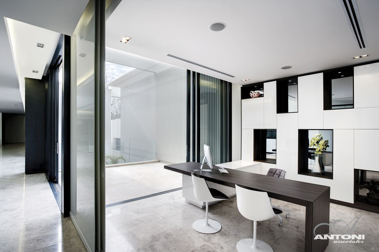 picture of modern home office in the south african dream design displaying