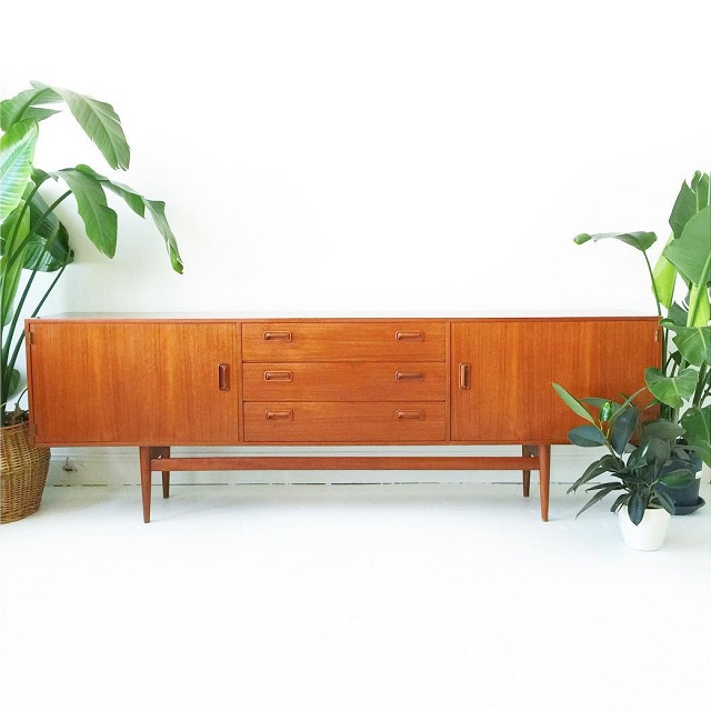 #thriftscorethursday Week 78 | Instagram user: at1stsightbk shows off this Teak Credenza