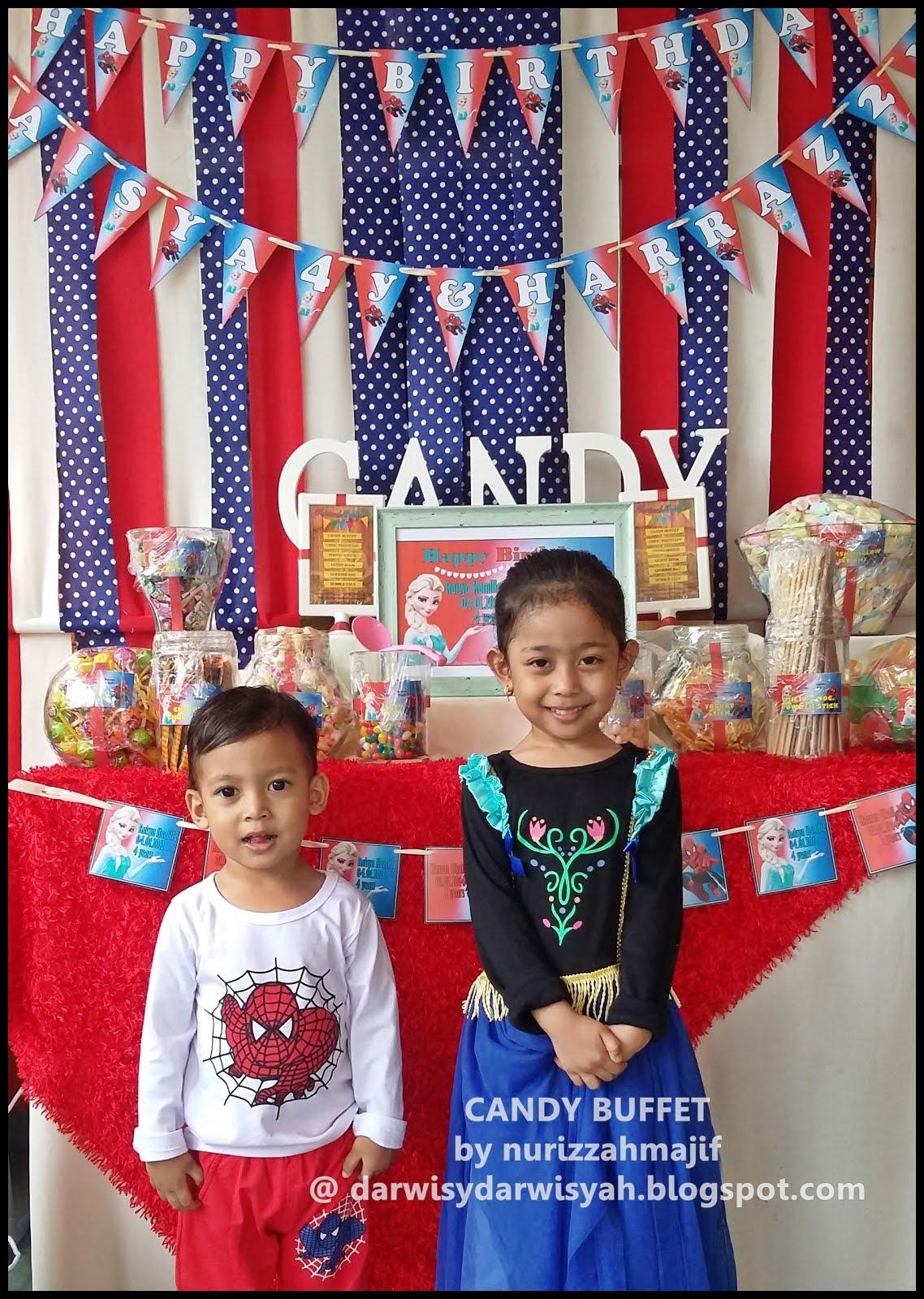 Birthday Celebration Raisya 4y & Harraz 2y  | 17/1/2015 @ Felda Palong 7, Jempol, Negeri Sembilan