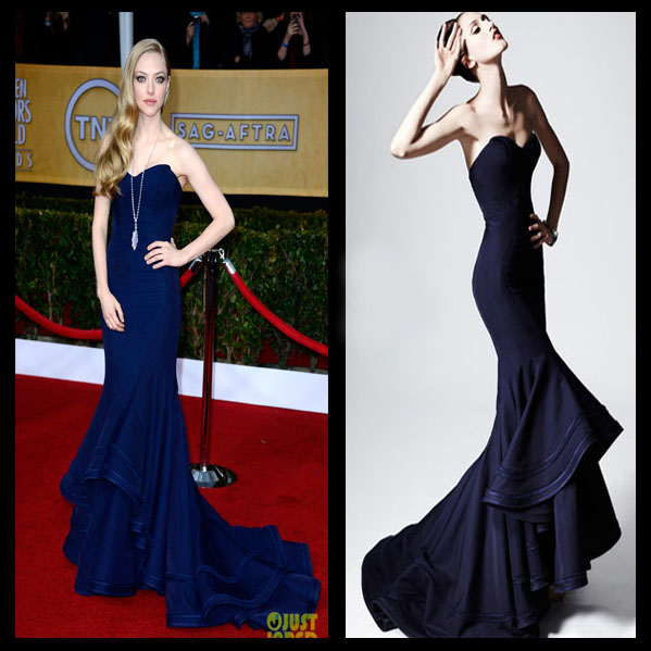 a filha do chefe Amanda Seyfried Lorraine Schwartz joias SAG Awards 2013