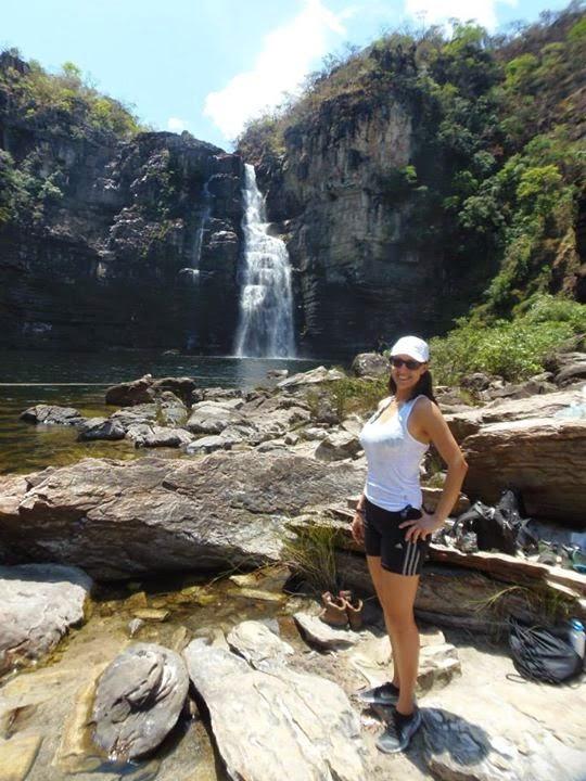 Cachoeira Salto 80, Parque Nacional da Chapada dos Veadeiros com Alice Faria