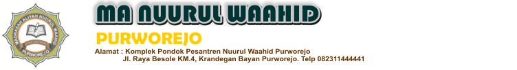 MA Nuurul Waahid