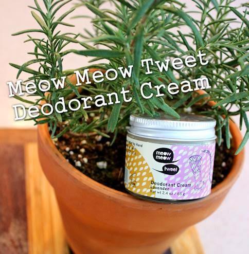 meow meow tweet deodorant cream review