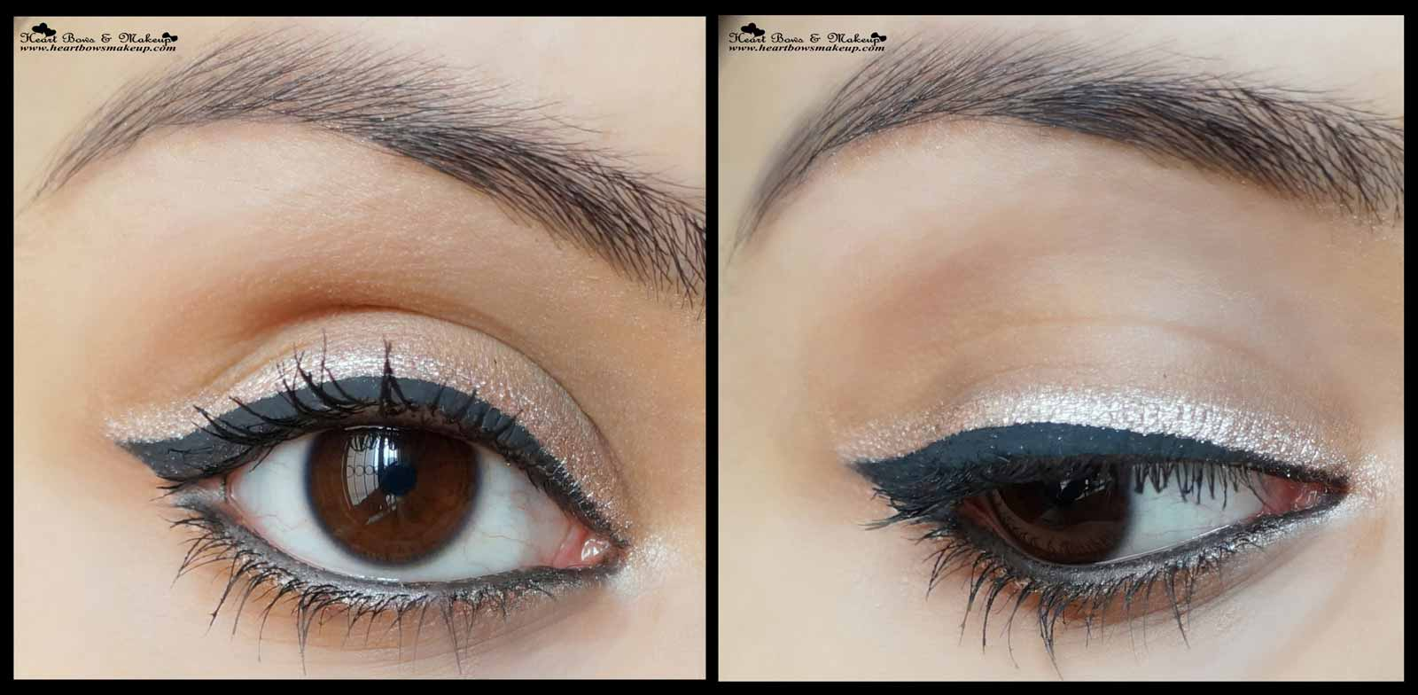 Maybelline Colorshow Crayon Khol Shiny Beige Review Eyemakeup