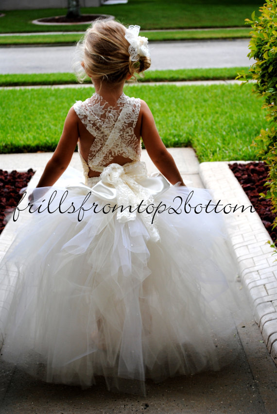 Tutu Flower Girl Dresses Edmonton 15