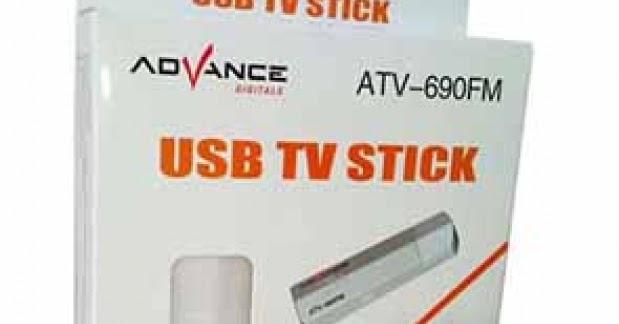 download driver advance usb tv tuner with av in stick atv 690