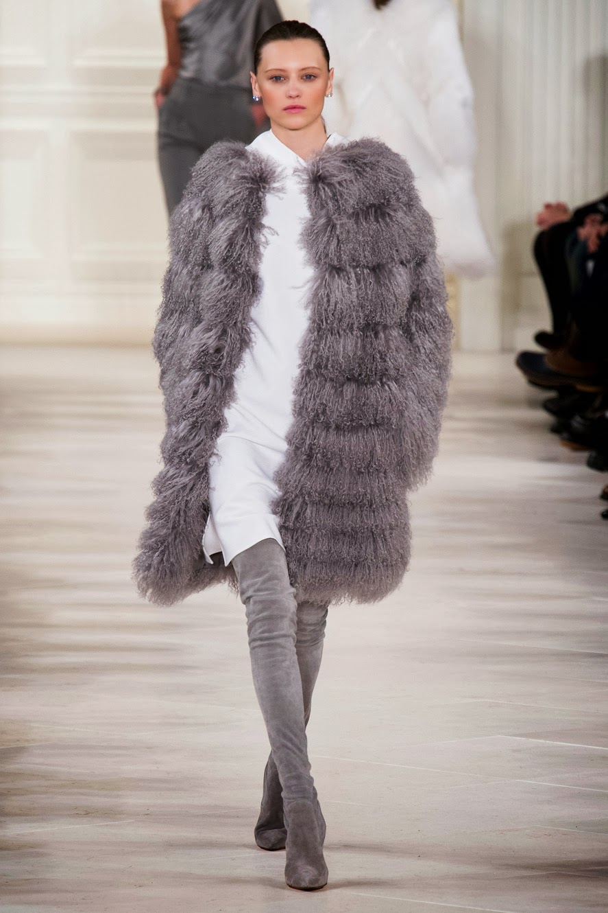 New York Fashion Week, NYFW, Fashion, Ralph Lauren, Feathers