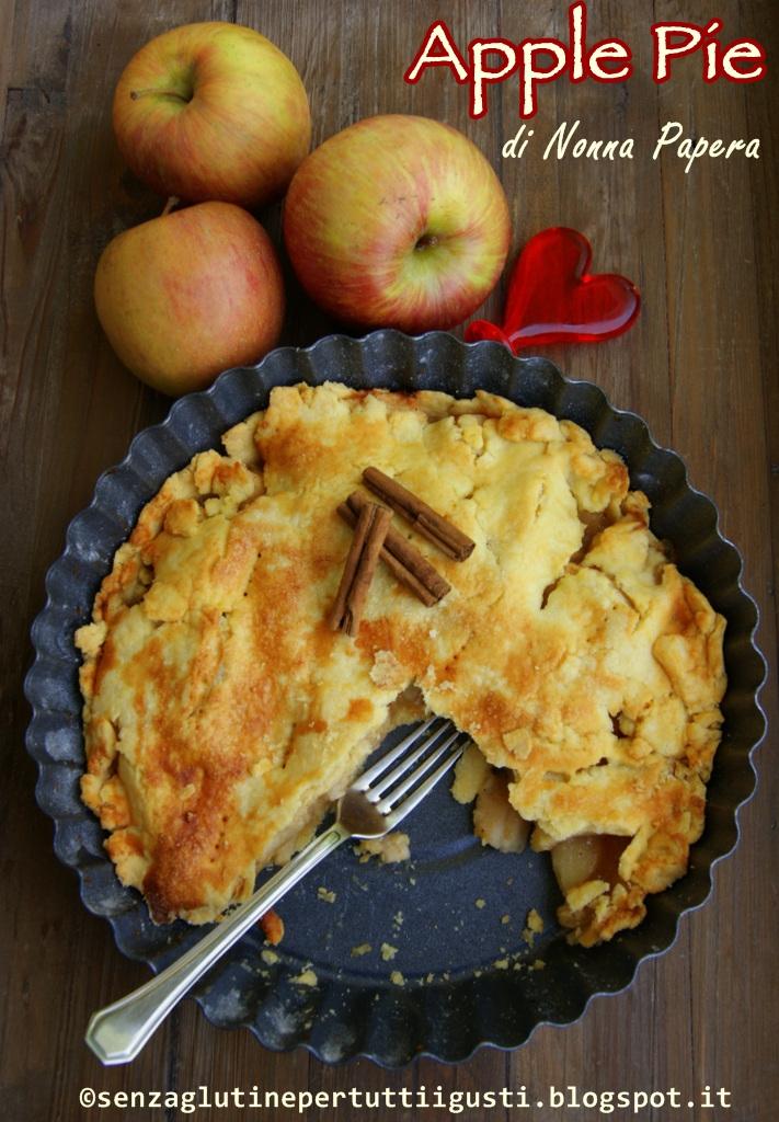 apple pie di nonna papera senza glutine e senza uova per il 100% guten free (fri)day!