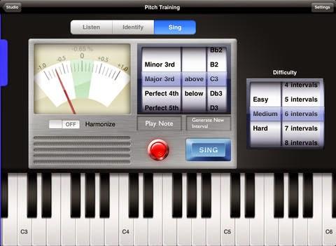 afinacion de voz software