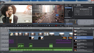 Screenshot MAGIX Video Pro X5