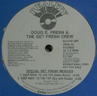 Doug E. Fresh And The Get Fresh Crew ‎– Keep Risin' To The Top (Special Get Fresh Remixes) (VLS) (1988) (320 kbps)