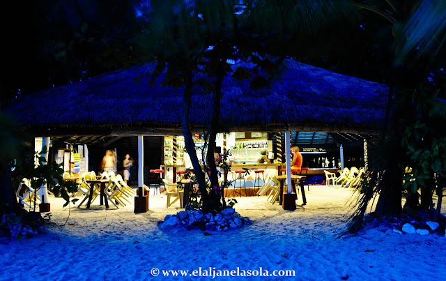 Pandan Island | Blue Hour by The Beach