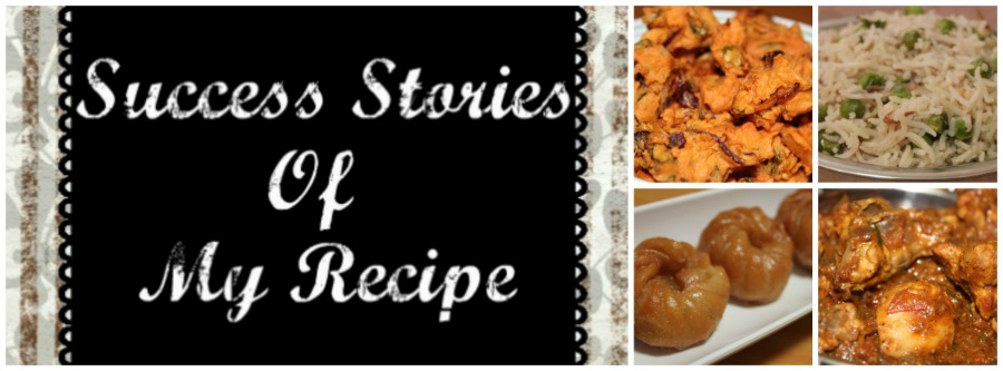 Success Stories Of My Recipe