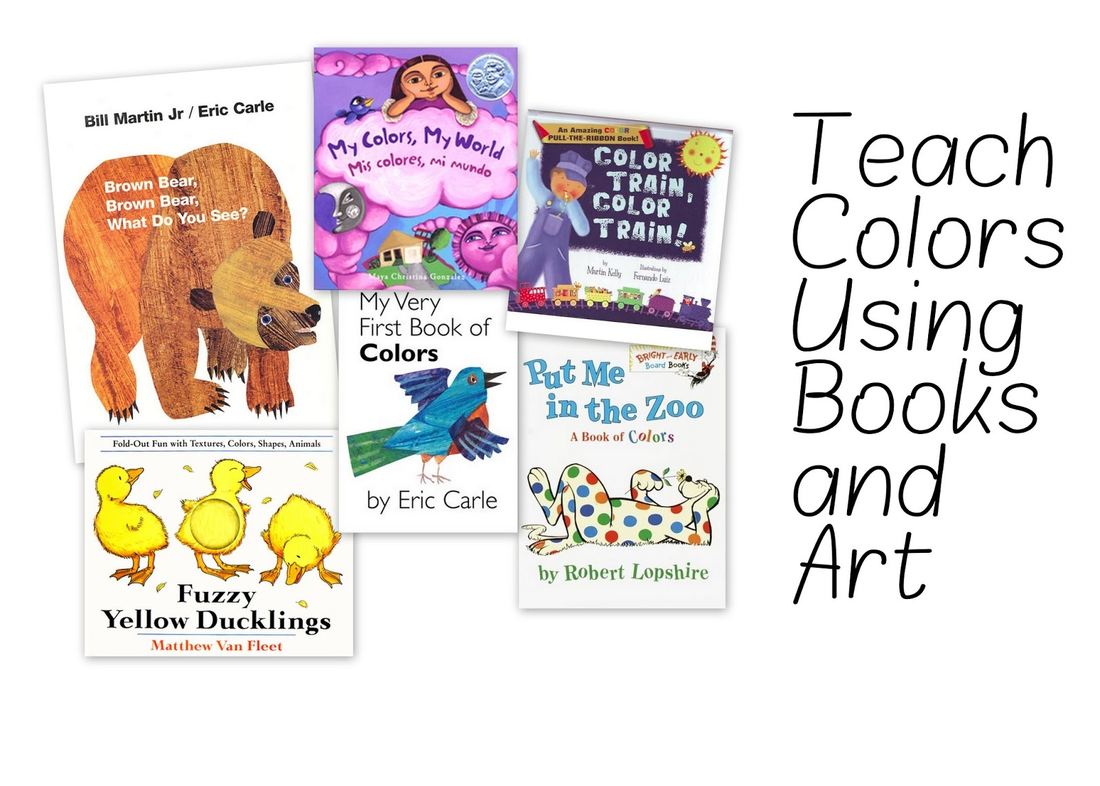 Little Scribblers Art Club: Teach Colors Using Books and Art