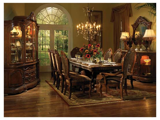 High end dining room furniture furniture for Dining room end chairs