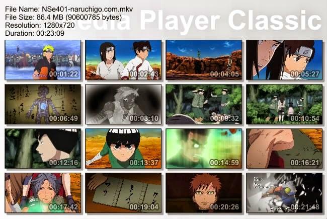 Naruto Shippuden Episode 401 English Sub