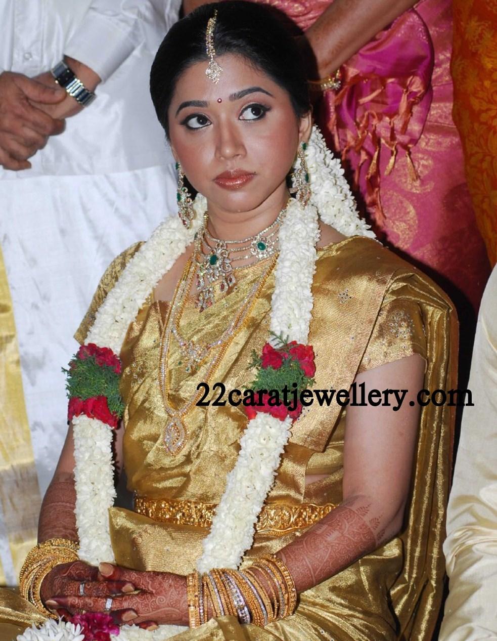 Aarthi in Diamond Wedding Jewellery - Jewellery Designs