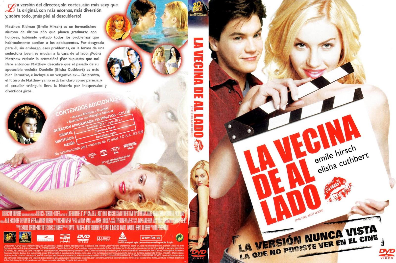 La Vecina De Al Lado DVD