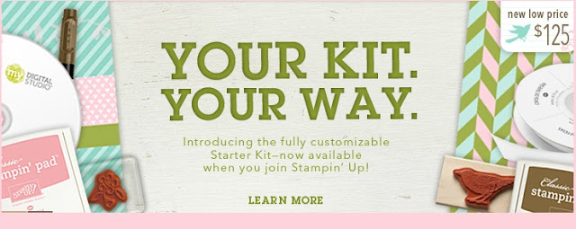 Stampin' Up! Starter Kit Canada