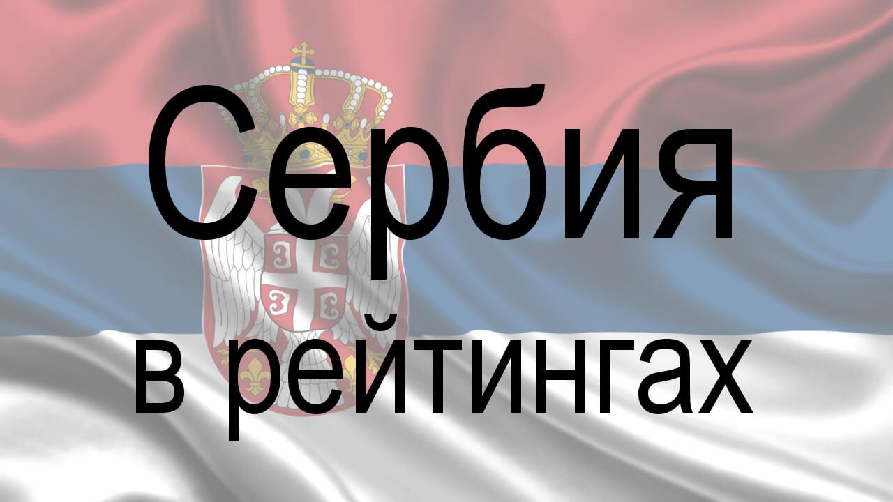 Сербия в рейтингах