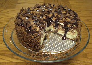 PB Fudge Cheesecake