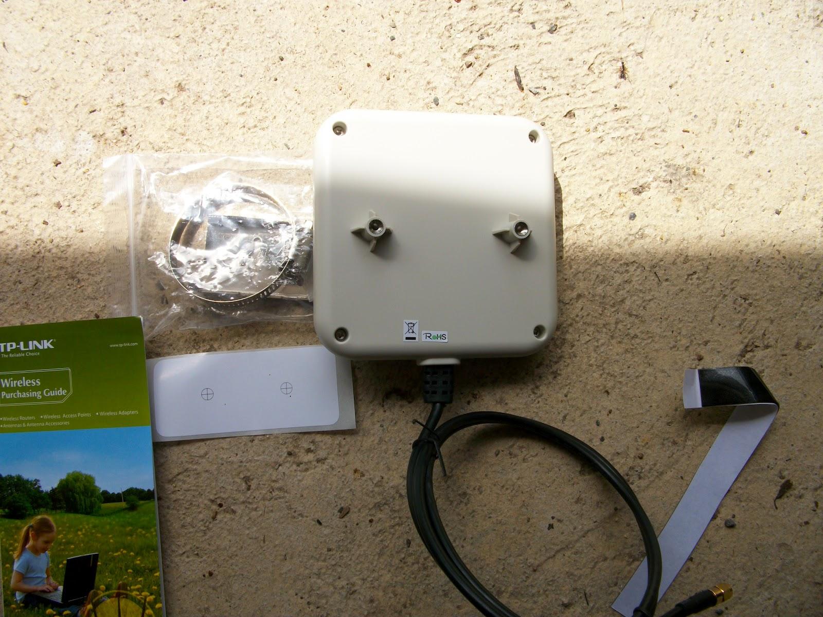 Homeautomate gorilla mat riel etendeur wifi ext rieur 9dbi for Installation antenne wifi exterieur