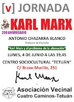 Antonio Chazarra Blanco: Karl Marx y el pronlema de la alienación