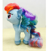 MLP Rainbow Dash 9 Inch Plush with Brushable Hair by Multi Pulti