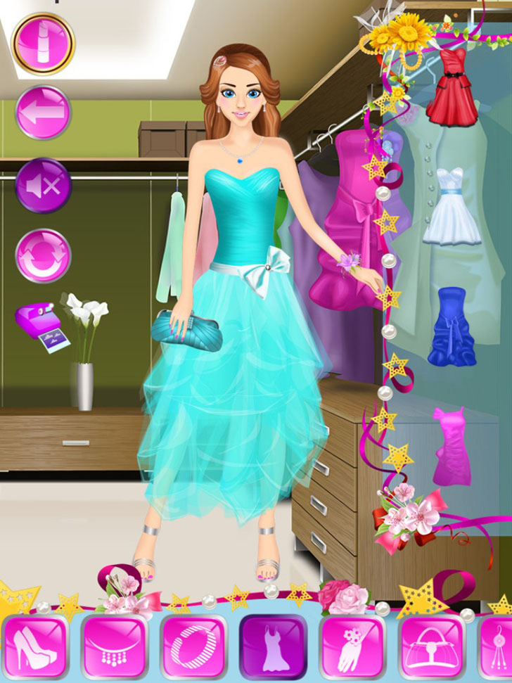 Prom Night Makeover App iTunes App By Ninjafish Studios - FreeApps.ws