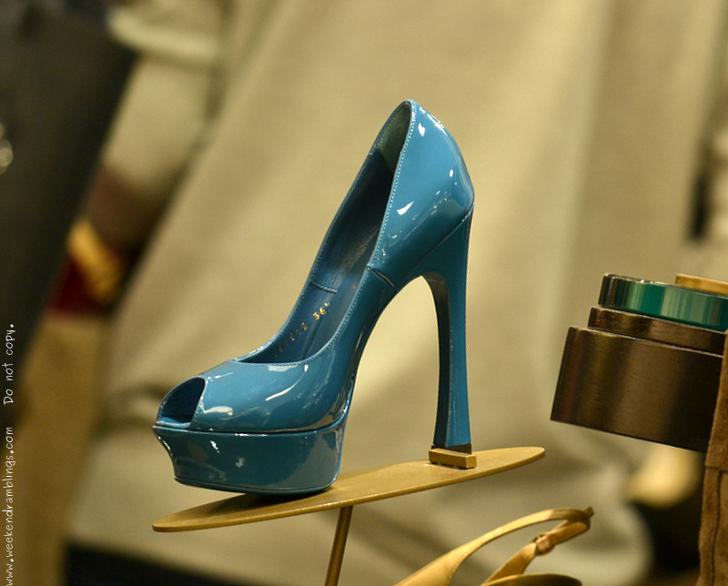 Yves Saint Laurent YSL Designer Shoes for Women Azur Palais Pump Resort 2012 Collection Nordstrom Fashion Trends