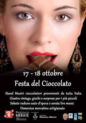 Festa del Cioccolato 17 e 18 Ottobre Merate (LC)