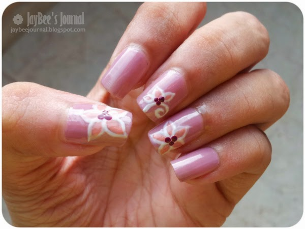 Pakistani beauty blog, Pakistani nail art, Eid nail art design tutorial flowers
