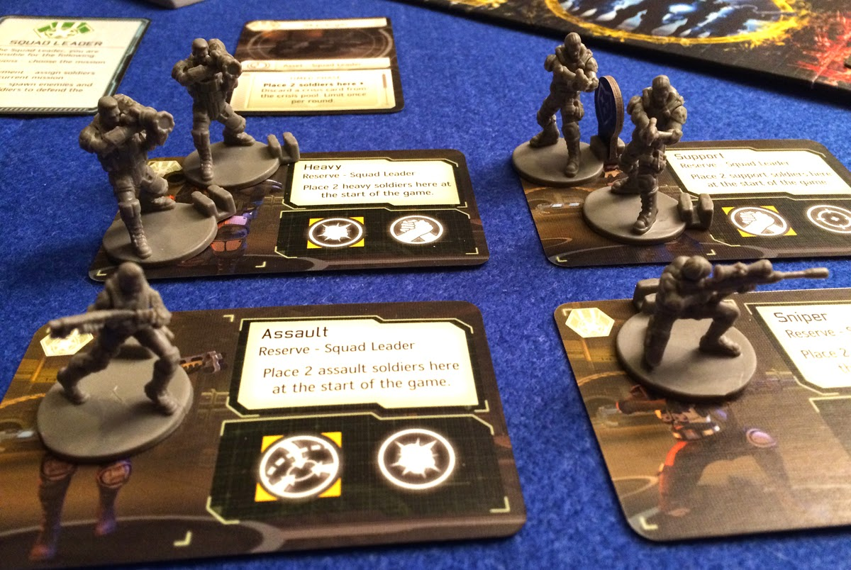 XCOM: The Board Game miniatures