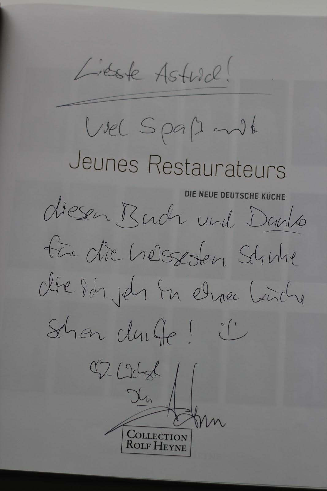 Arthurs Tochter Kocht: 20 Jahre Jeunes Restaurateurs in