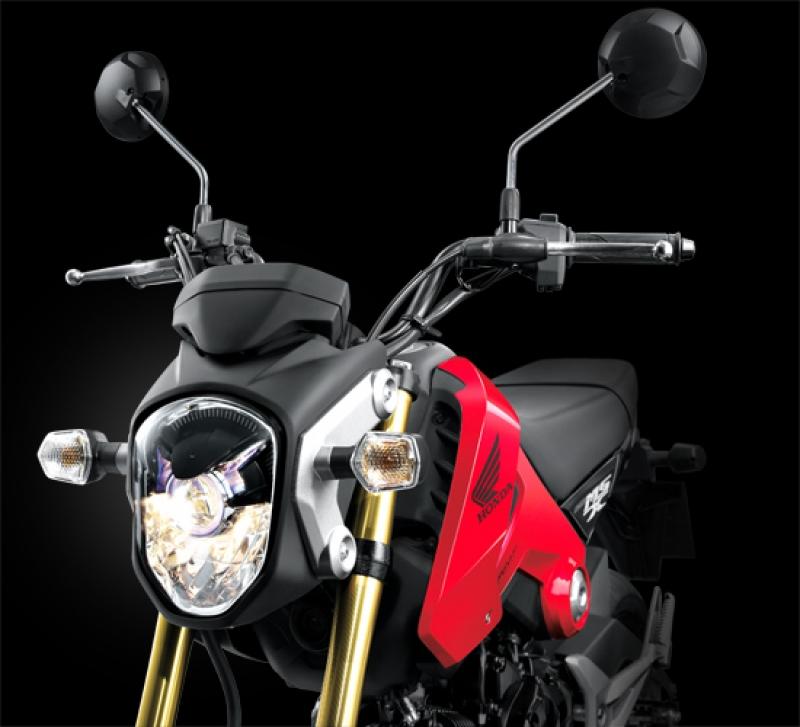 Thailand Motorcycle News  U0026 Information  New Honda Msx125 Mini Street Bike In Thailand