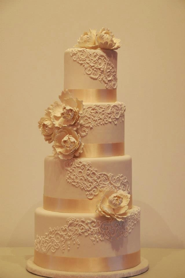 Spanish wedding cake modern and appealing | Miscellaneous garden