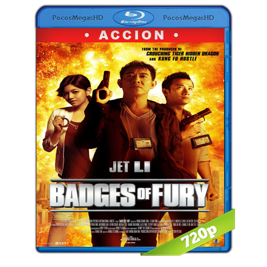 Badges of Fury (2013) BrRip 720p Chino AC3+subs