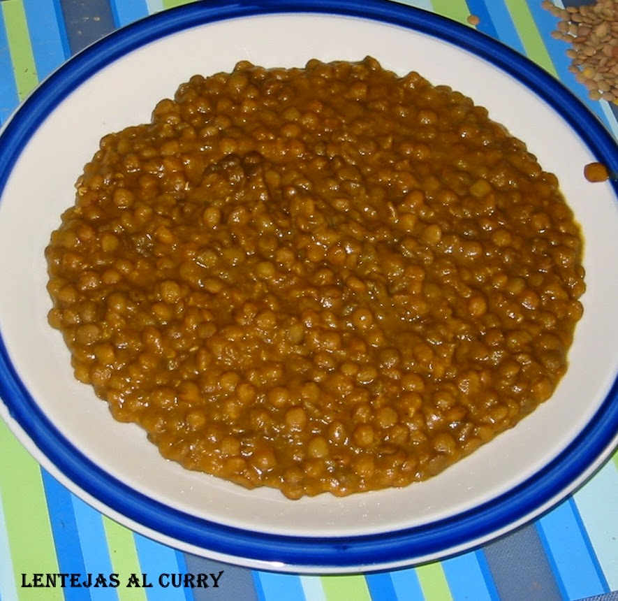 Lentejas curry