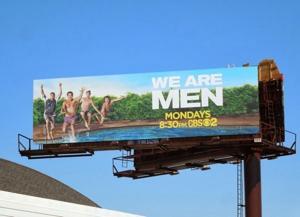 We Are Men season 1 billboard