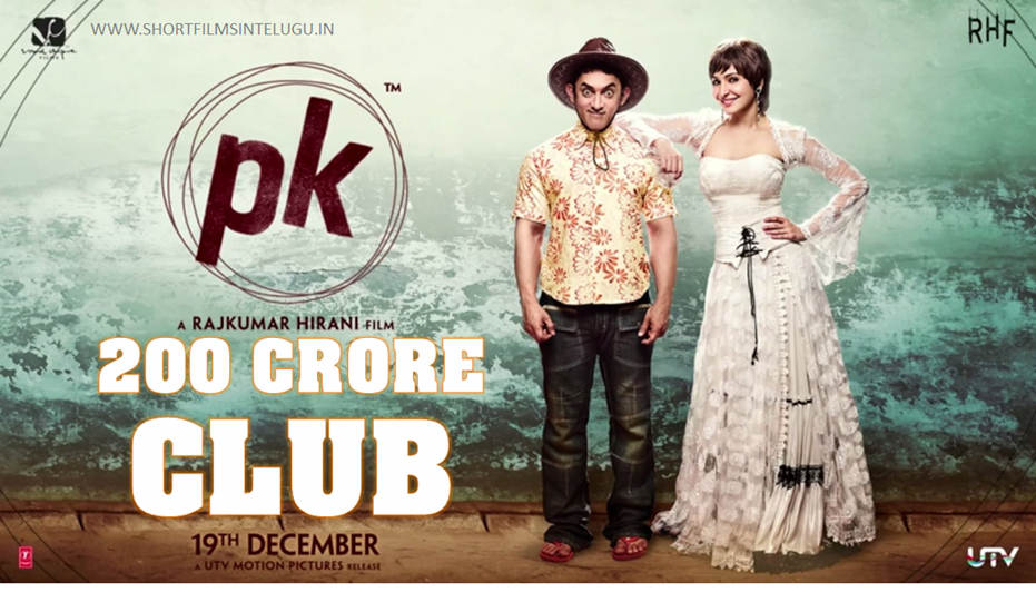 PK FILM JOINS Rs 200 Crore Club - Beats Dhoom 3 record