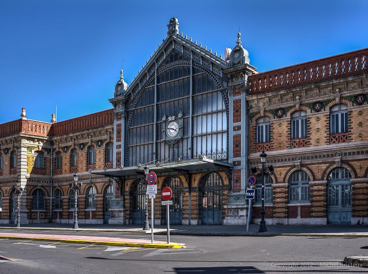 RAilway Station, Almería (Andalucía, España)